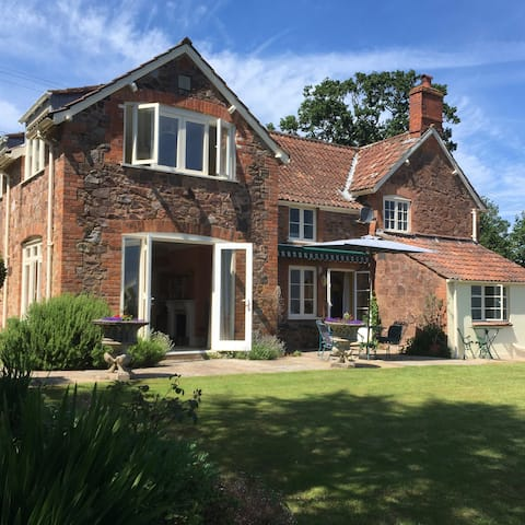 English Country cottage in The Quantock Hills