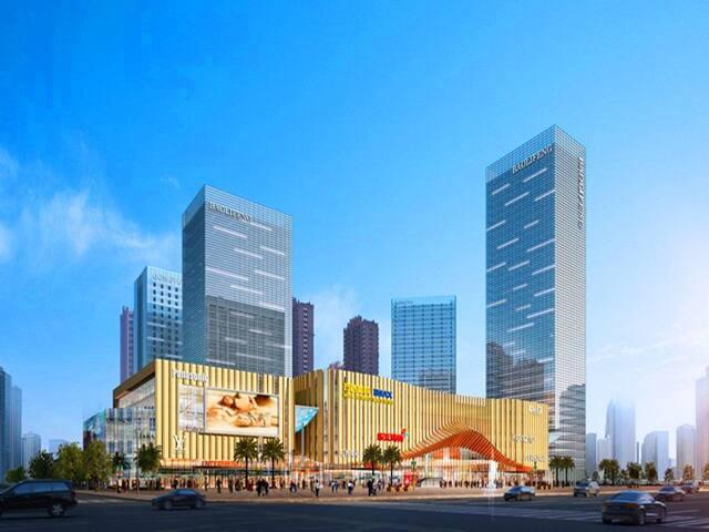 宝利丰广场商业体