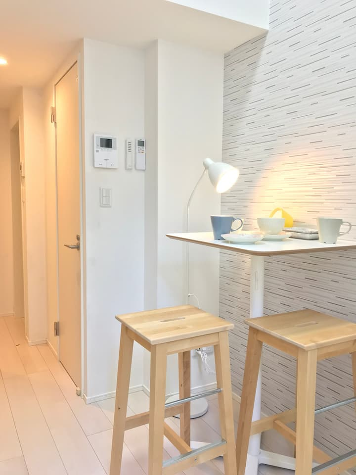 Studio with loft, Skytree/Asakusa 10mins walk