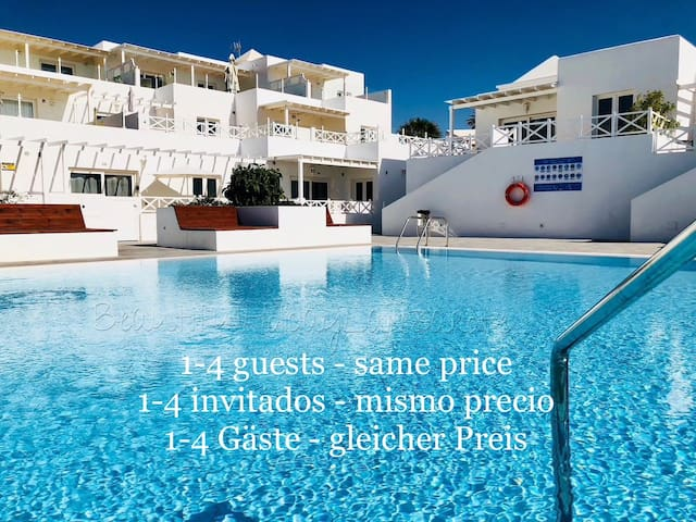 Apartment Mariposa with pool, Smart-TV,Wifi,Aircon
