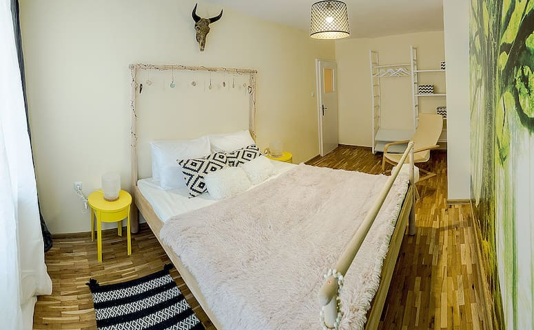 """Viking"" 2-bedrooms in the city center"