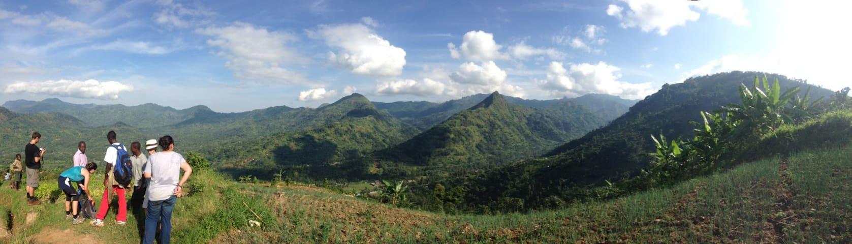 Home in lush, mountainous landscape - Bududa - House