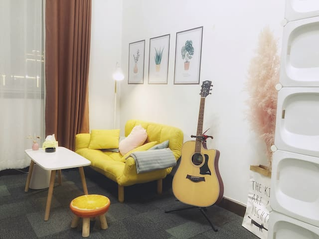 可以小憩的折叠沙发