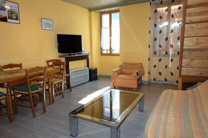APPARTEMENT BOURG LARUNS (PHONE NUMBER HIDDEN) - Laruns - Lejlighed