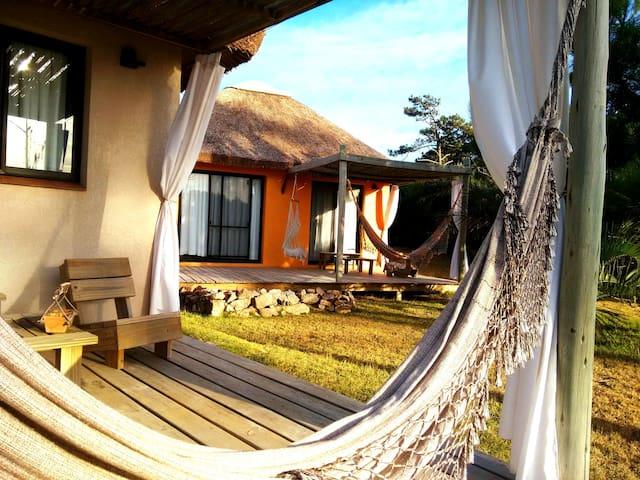Romántica Cabaña para Parejas, Playa Virgen - Wifi