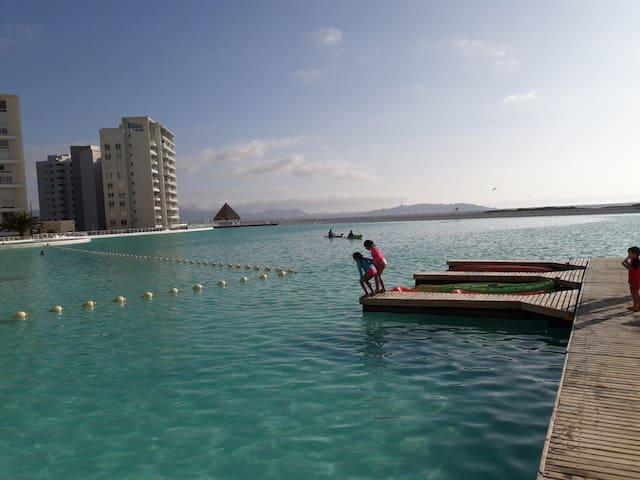 Hermoso Departamento Laguna del Mar 3 pasajeros