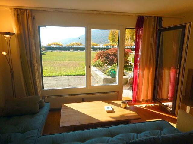 2-Zimmer-Wohnung am See im Hafen von Biel