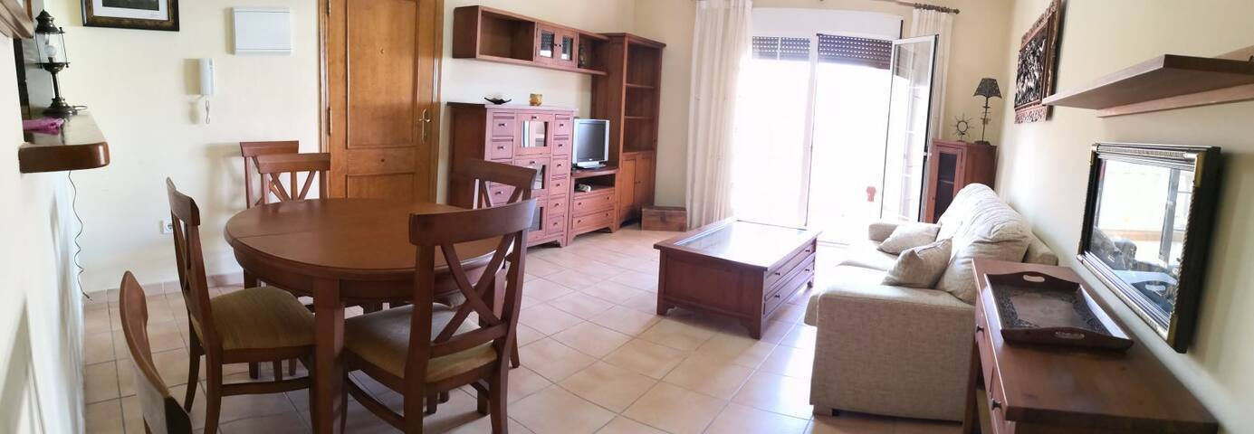 Apartamento Villaricos. Wifi y parking gratis