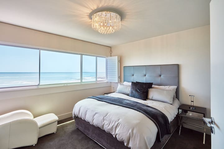 A beautiful main bedroom