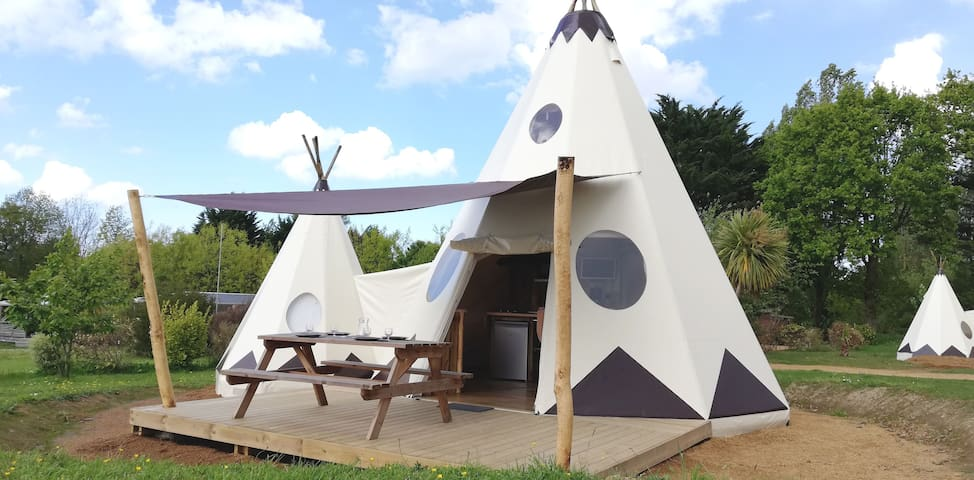Tipis double luxe