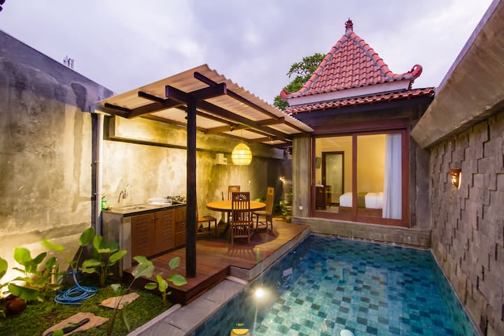 Tidy and Stylish Villa with Private Pool in Canggu