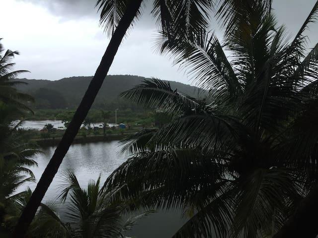 Lake view 1 bedroom apartment near Baga Beach, GOA