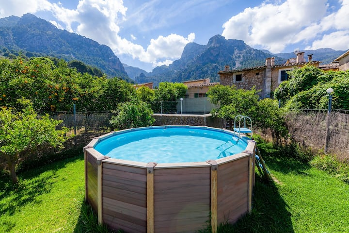 Holiday home with a view – Casa Biniaraix