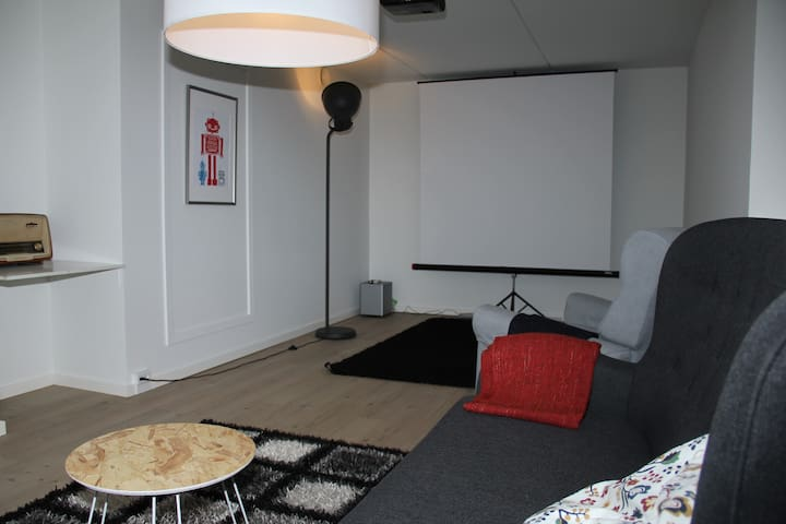 Quiet and central apt, in best part of Nørrebro