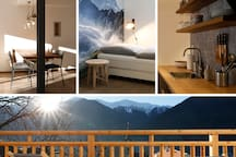 Vollausgestattete, neu sanierte Altbau-Wohnung mit einer Mischung aus Design & Südtiroler-Flair. Wir arbeiten ständig an unserer Wohnungseinrichtung - Bilder können daher von der Realität vor Ort etwas abweichen.