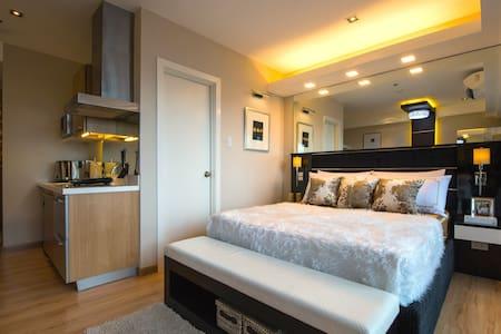 Elegant Studio  at Knightsbridge Century City - Makati - Apartemen
