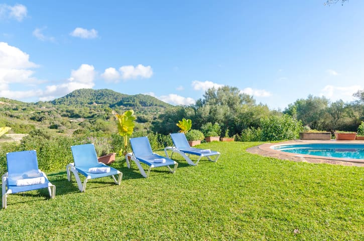 Sa Ferreta - charming villa with private pool - Felanitx - Rumah