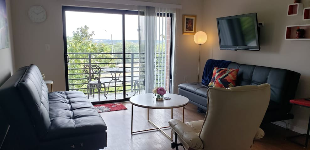 Charming Uptown Condo with new furnishings