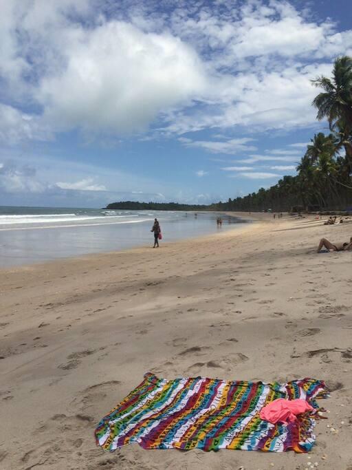 Praia de Cueira, 10 minutos de caminhada (Cueira beach, 10 min walking)