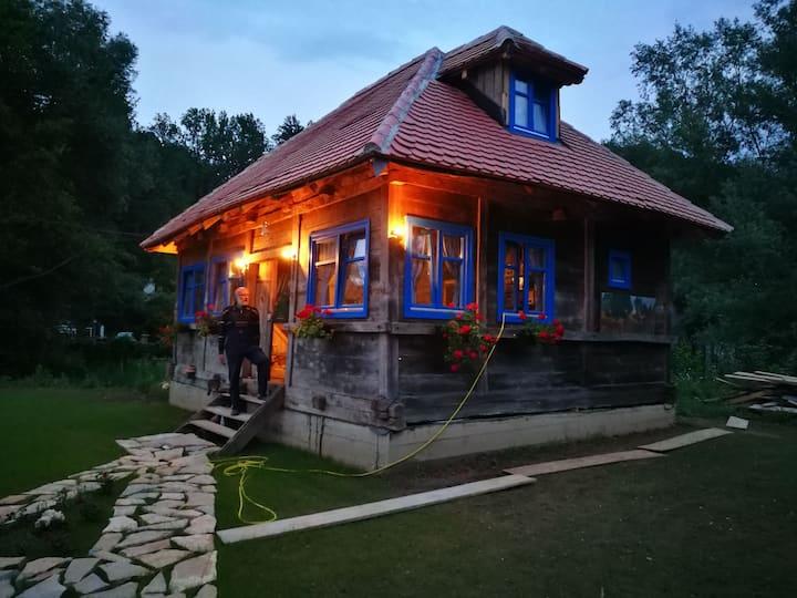 LA MaGaZa Banja Vrujci old wooden house, magaza