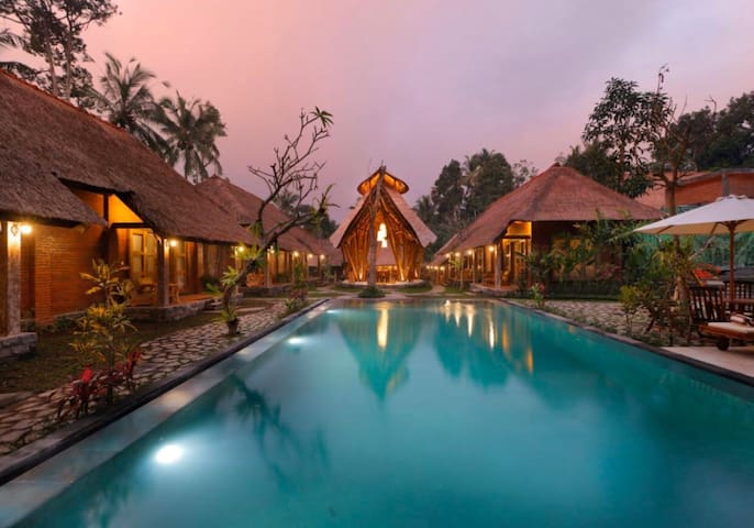 Eco Resort with Balinese Traditional Style