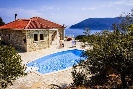 Villa Liladi, Stonebuilt, Quiet location & Seaview - Fiskardo - 度假屋