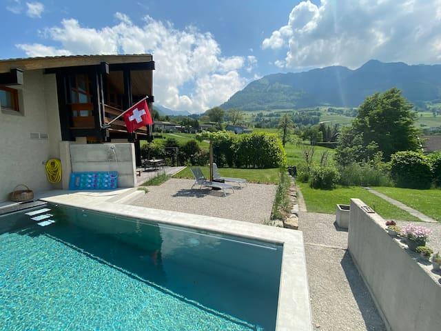Ferien in der Nähe - Villa mit Pool an toller Lage
