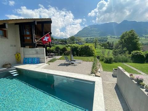 Villa als Homebase für mehrere Skigebiete