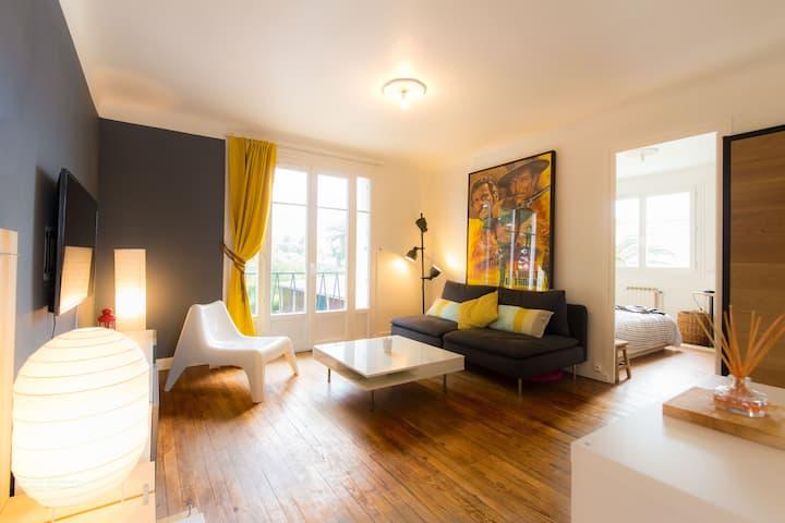 Charmant appartement tranquille et lumineux