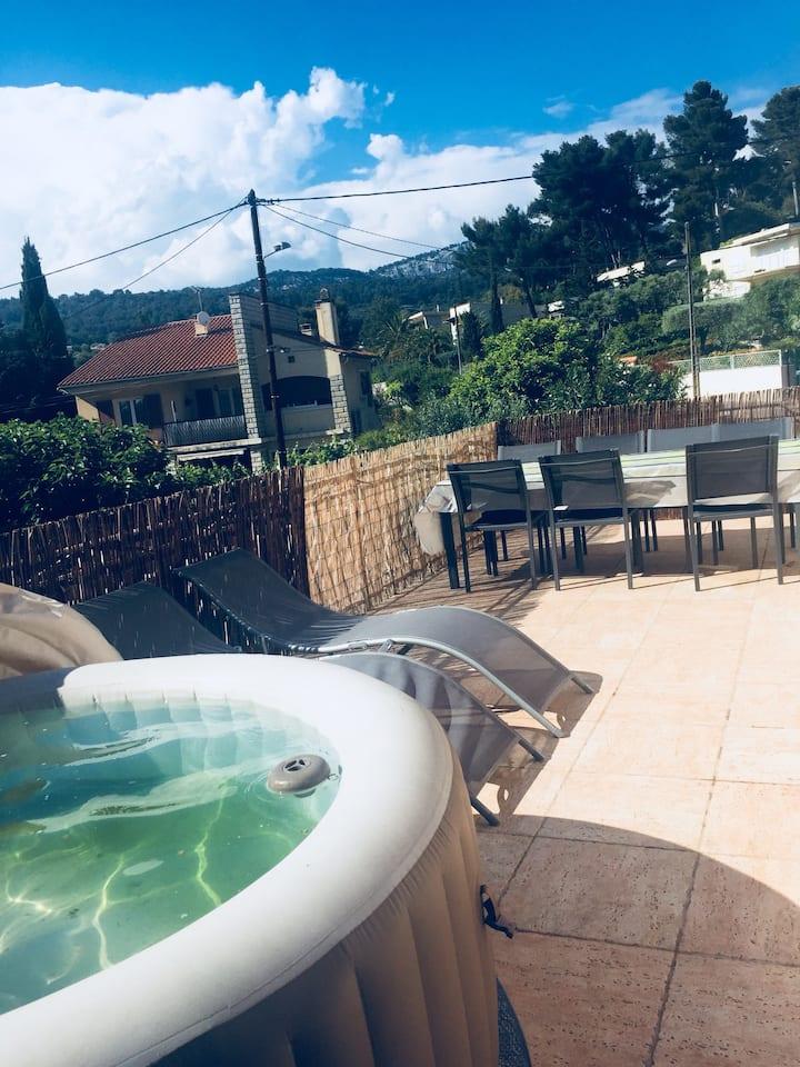 Haut de villa 75m² + Jardin
