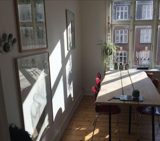 Cozy, quiet apartment in Copenhagen - København - Apartment