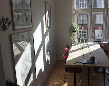 Cozy, quiet apartment in Copenhagen - 코펜하겐(Copenhagen) - 아파트