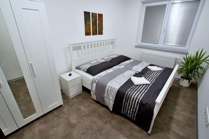 Nový a klidný byt v samém centru města - Veselí nad Moravou - Apartamento