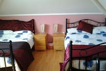 2 x double beds