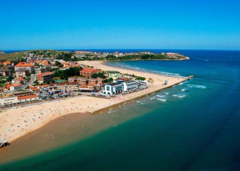 Apartamento en playa de la concha apartamentos en alquiler en suances cantabria espa a - Apartamentos en cantabria playa ...