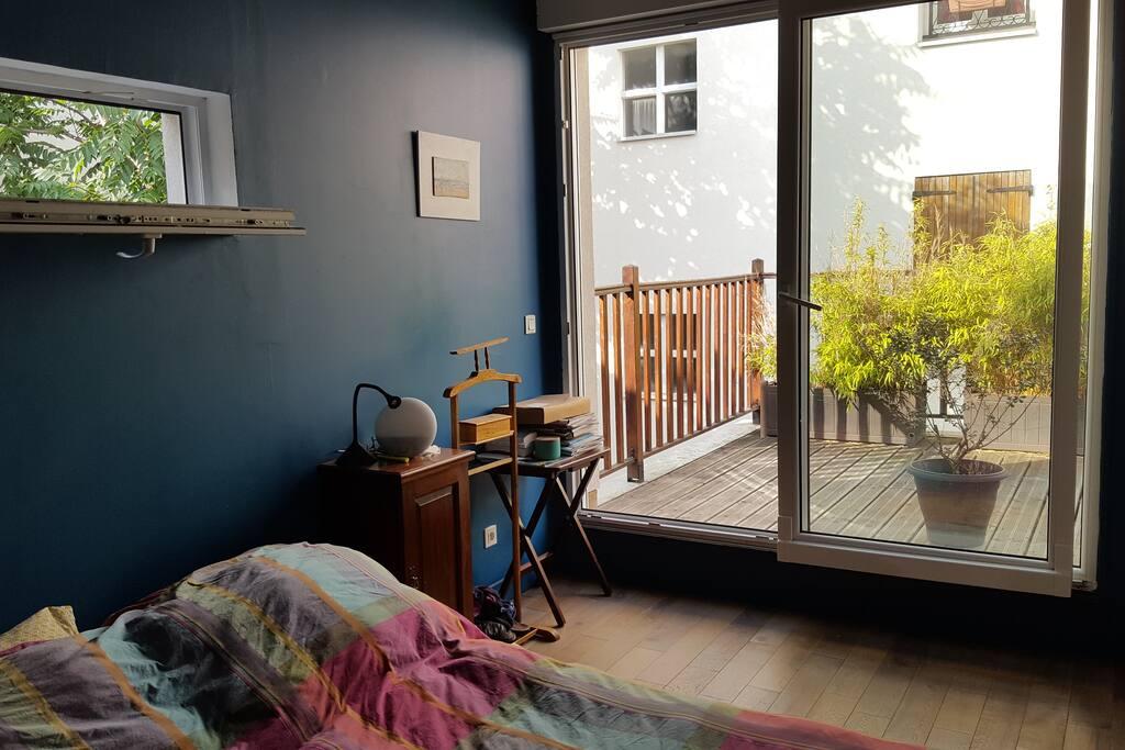 Chambre 1 terrasse