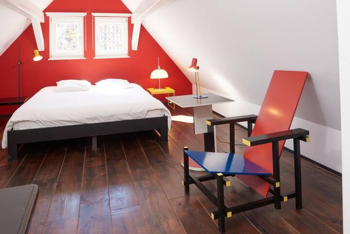 Chambre duplex avec terrasse et jardin
