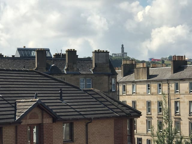 Calton Hill - View from Living Room
