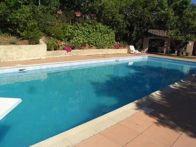 Logement vue Golfe de Saint Tropez