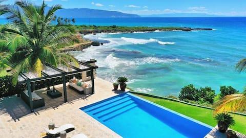 MR | Ocean Front Villa | Barahona | Ref: BA 213