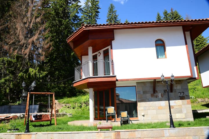 Ski Chalets at Pamporovo - an affordable village holiday for families or groups