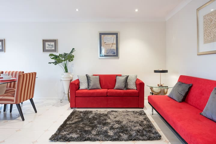 Spotless living room