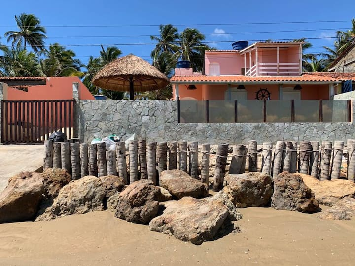 Pontal do Peba Quarto Casal Beach House na Praia 1