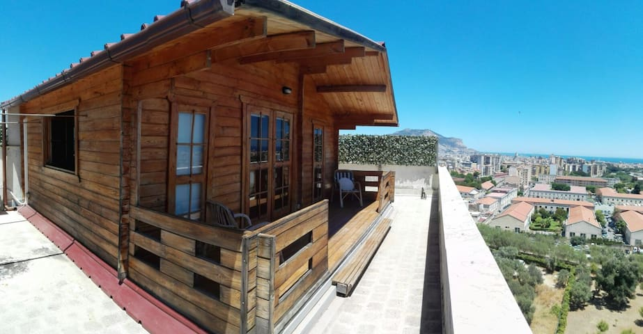 Splendid Chalet on a rooftop