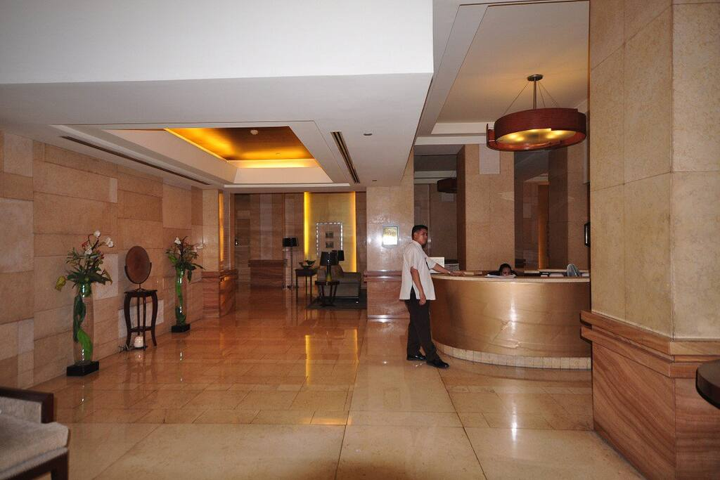 The Eastwood Excelsior Condo Lobby