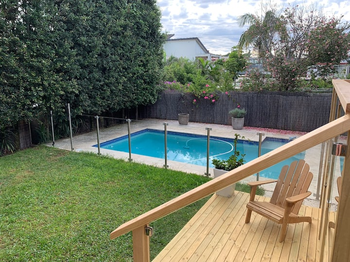 Entire house with pool and gardens, kid friendly