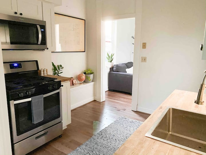 Studio Apartment with Off Street Parking!
