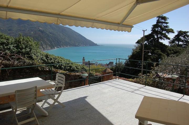 Appartamento in villa con fantastica vista
