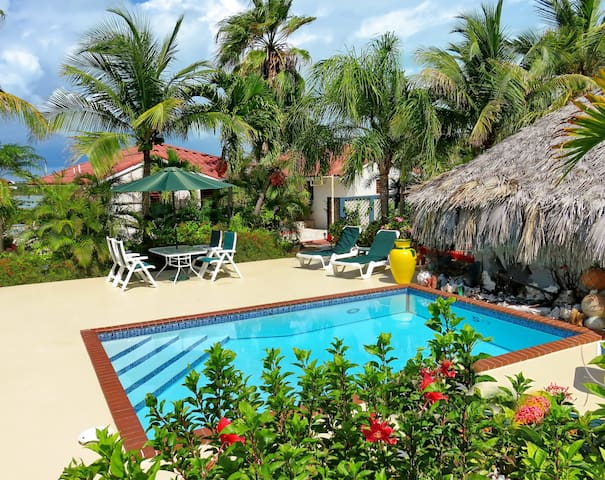 Charming one bedroom villas between ocean and lake - Providenciales - Villa