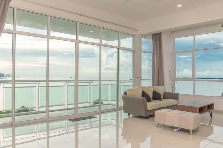 Seaview Butterworth Luxury Cozy Condo 全海景高级公寓